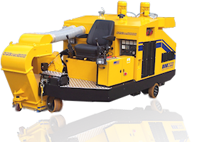 MP6000™ sit & ride multipurpose shot blasting, planing, grinding and surface stripping preparation machine